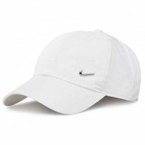 NIKE ADULTS METAL SWOOSH CAP WHITE