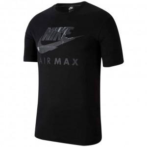 NIKE MENS AIR MAX T-SHIRT BLACK