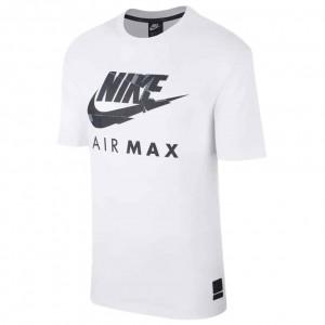 NIKE MENS AIR MAX T-SHIRT WHITE
