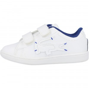 LACOSTE INFANTS CARNABY EVO 0320 TRAINER WHITE
