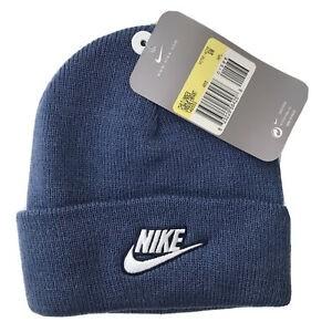 NIKE CHILDREN'S BEANIE HAT BLUE