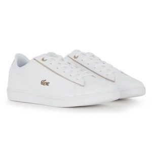 LACOSTE INFANTS CARNABY EVO 0520 TRAINER WHITE