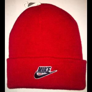 NIKE CHILDREN'S BEANIE HAT RED