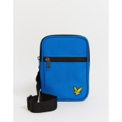 LYLE & SCOTT MINI MESSENGER BAG BLUE