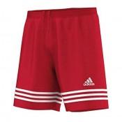 ADIDAS MENS ENTRADA 14 FOOTBALL SHORTS RED